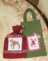 ziemassvētku dāvanu maisiņi